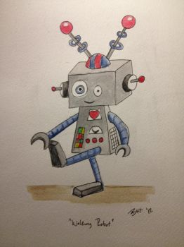 Robot by Beckwee