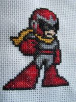 Protoman by Sirithre