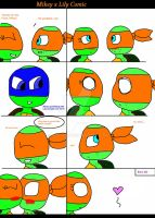 Mikey and Lily comic by Allison1y