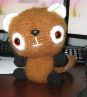 Red Panda Amigurumi by GemSterling