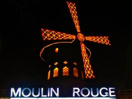 Moulin Rouge by GabrielPhotoArt