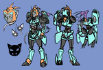 Mecha-MaXed REF by MaXedCats