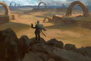 Wind - Desert of anomalies by parkurtommo