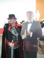 Remilia and the Most Interesting Man in the World by Scarlet-Impaler
