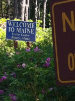 My Trip to Maine - Welcome To Maine by hershey990