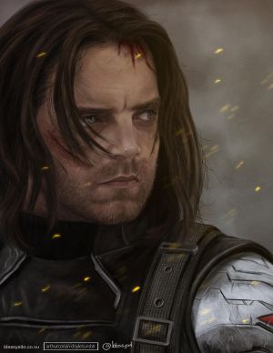 'But I knew him.' | Winter Soldier by blessyo4