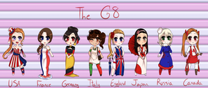 G8 Flag Adopts by Shounen-Hime