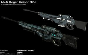 ULA Aeger Sniper Rifle by AStepIntoOblivion