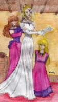 HP7-Bill and Fleur marriage by Dhesia
