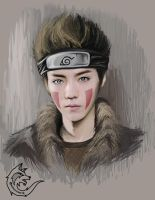 EXO Luhan as Kiba by Edisonlee18