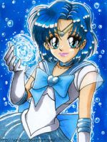 Sailor Mercury by Vani-Fox