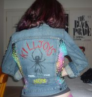 Killjoys DIY jacket MCR by sisterspooky