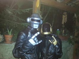 Daft Punk Cosplay by Dark-smourbiff