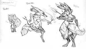 Lemon's Evolutions by Puppy-Chow