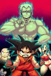 Son Goku vs General Blue by KenronToqueen