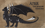 TLOS FC: Ater The Shadow Guardian by Crowned-Lemur