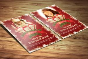 Christmas Flyer Template by DOMDESIGN