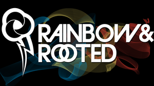 Rainbow + Rooted Wallpaper 1 by RDbrony16