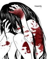 At the edge of insanity by yuna-chicky-yummy