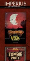 Halloween Bundle - Flyer Template -- Imperius by ImperiusDesigns