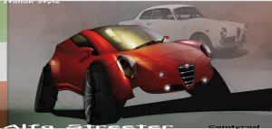 Alfa Romeo concept by candyrod