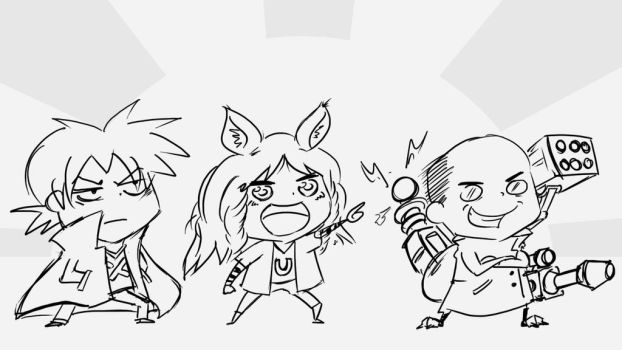 NLS Leaders Himouto-ized by Ekez1337