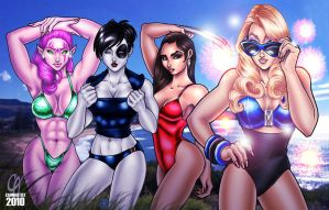 X-Women Swimsuit Edition 3 by Cahnartist