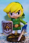 Toon Link sculpture by WeirdCatInAHat
