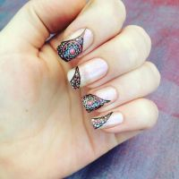 Abstract Nails by RhapsodyArt