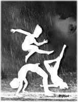 We are just dancing and singing in the rain by gmotier