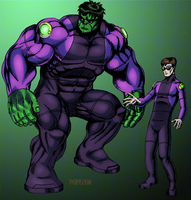 New Costume Hulk by hulkdaddyg