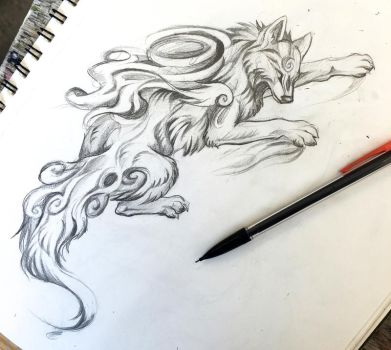 64- Climbing Okami Design by Lucky978