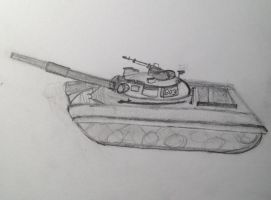 T-64 Tank by Super6-4