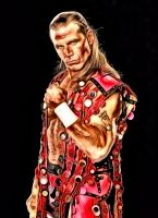 The Heartbreak Kid Shawn Michaels by anubis55