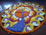 Peacock Pookalam by ajishrocks