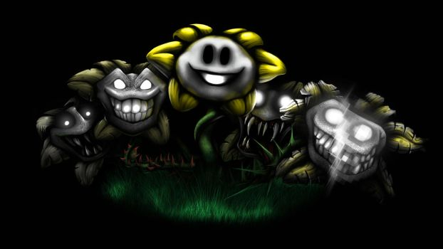 Undertale - Flowey's Many Facets by CryO5