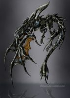 Colored Mech dragon by Alkharia