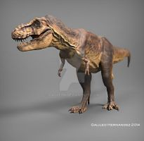 T Rex quick render. by GalileoN