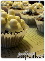 cupcakes - choco snowballs'3 by angelicetherreality