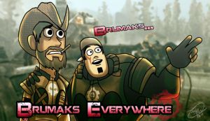 Brumaks Everywhere by WinterSpectrum