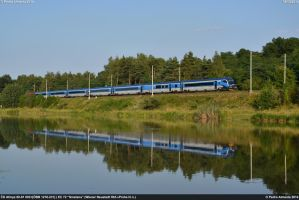 CD Railjet 003 EC72 Tynec nad Labem 08-08-14 by Comboio-Bolt