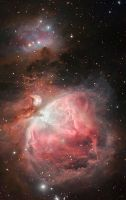 new orion nebula by frenchbear