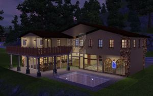 My Sim Mansion by MrSlowNiko