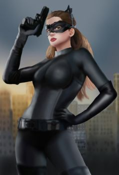 TDKR: Catwoman by BLOOD-and-LUST-87