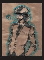 Kotetsu. Sketch by Juu-mad-scientist