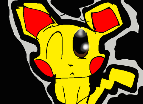 Pokemon Pichu| Ouch by Doggygirl2004