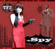 Red Spy from TF2 by ChallengeSakana