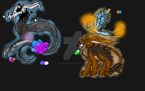 Creatures for creatures by Darkfury1087