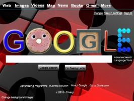 Google web page by Bernybear
