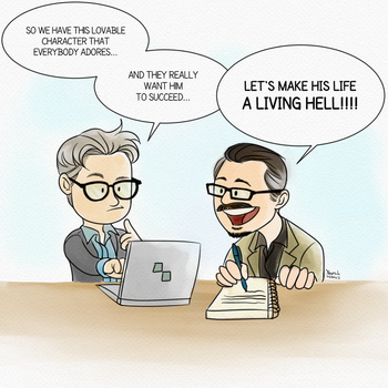 Peter Gould and Vince Gilligan's Thought Process by Konstance
